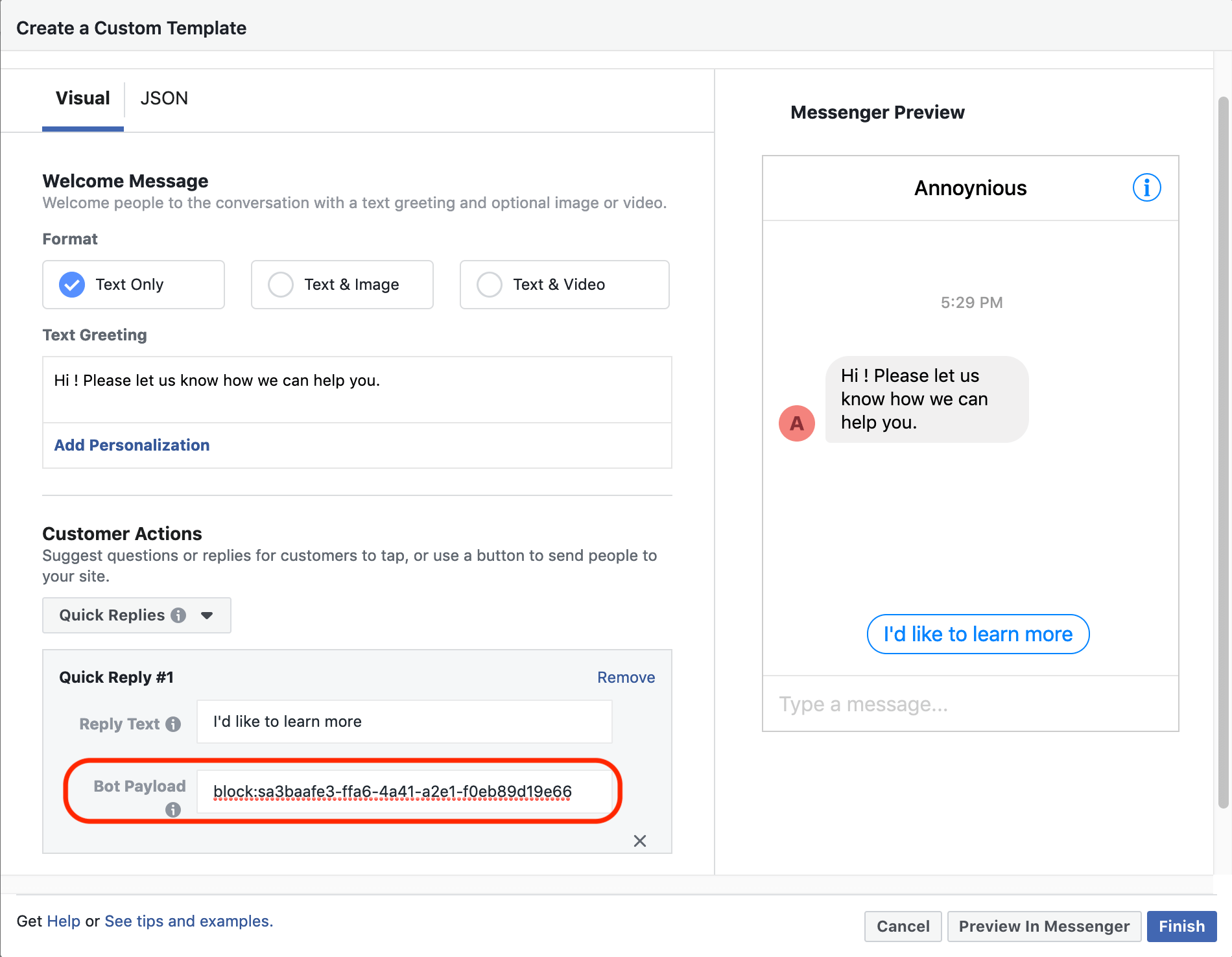 How to Integrate Your Chatbot from Facebook Ads · BotStar