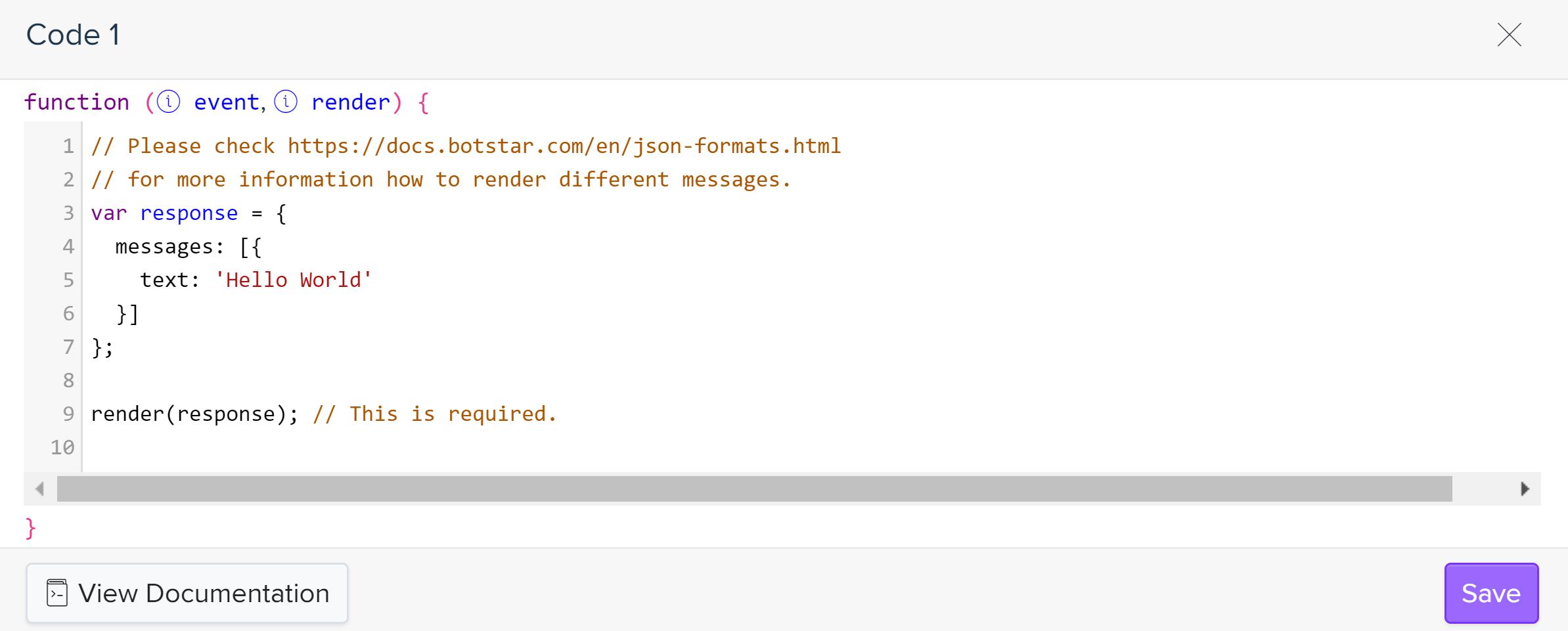 Write Chatbot Scripting In BotStar · BotStar